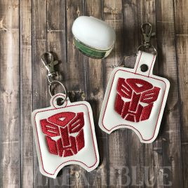 ITH Transform Hero Sanitizer Holders 4×4 and 5×7 included- DIGITAL Embroidery DESIGN