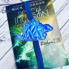 ITH – Geo Dino – Book Band – Digital Embroidery Design