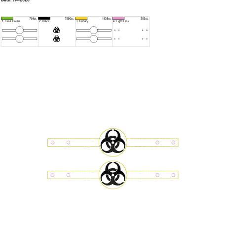 Mask Extender biohazard 6×10 grouped