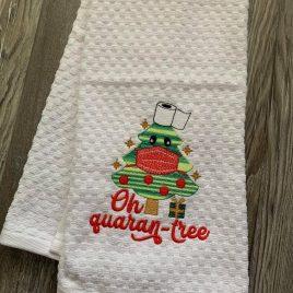 Oh Quaran-tree – 2 Sizes – Digital Embroidery Design