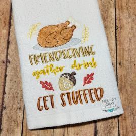 Friendsgiving – 5×7 – Digital Embroidery Design