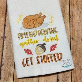Friendsgiving – 5×7 – Digital Embroidery Design