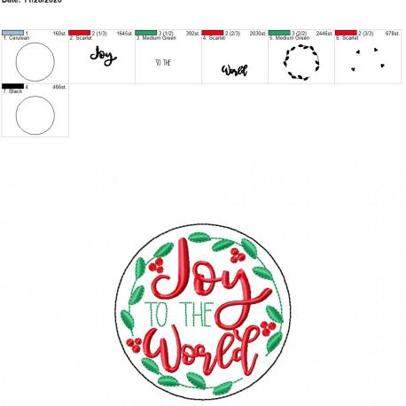Joy to the world coaster 4×4