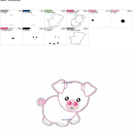 Piggy Book Band 4×4