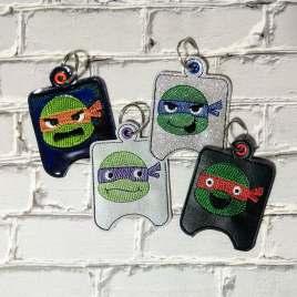 Ninja Sanitizer Holder Set – DIGITAL Embroidery DESIGN