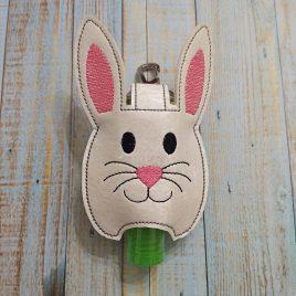 Bunny Sanitizer Holder – DIGITAL Embroidery DESIGN