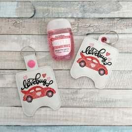 Lovebug Sanitizer Holders – DIGITAL Embroidery DESIGN