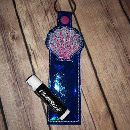 Seashell Lip Balm Holders 5×7 – DIGITAL Embroidery DESIGN