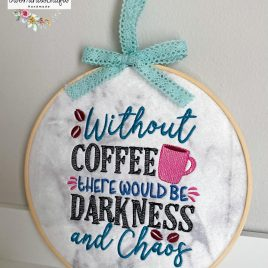 Darkness and Chaos – 2 sizes- Digital Embroidery Design