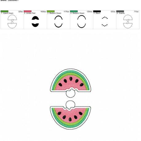Watermelon Eyelet 4×4 grouped