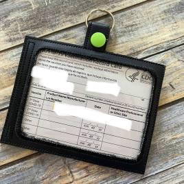 Vaccination Card Holder Snaptab 5×7