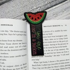 One in a Melon Bookmark 4×4 and 5×7 Grouped – Digital Embroidery Design