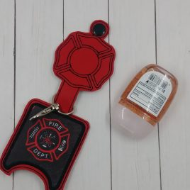 Maltese Cross Applique Fold Over Sanitizer Holder 5×7- DIGITAL Embroidery DESIGN