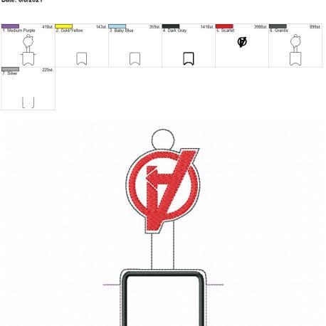 A Logo AFOSH 5×7