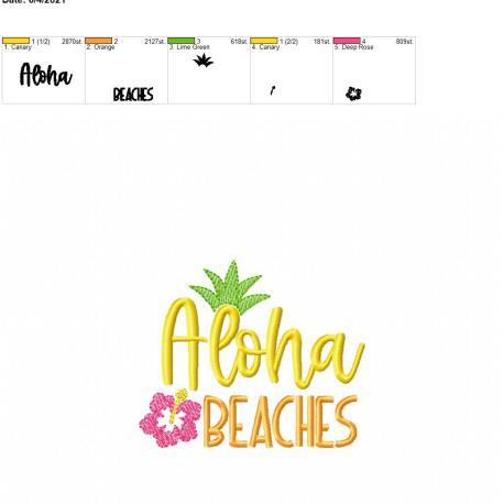 Aloha Beaches 4×4
