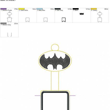 Bat Hero Sketch AFOSH 7