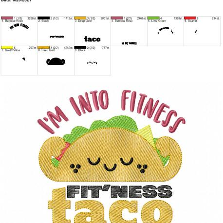 Fitness Tacos 6×10