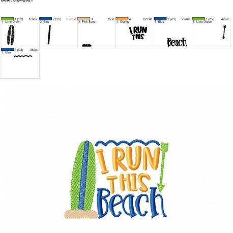 Run this beach 4×4
