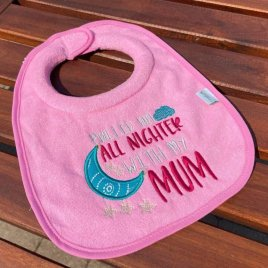 Pulled an All Nighter Mum – 3 sizes- Digital Embroidery Design