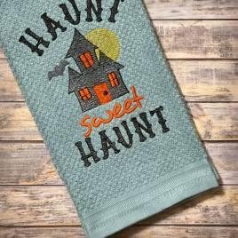 Haunt Sweet Haunt – 3 sizes- Digital Embroidery Design