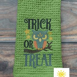 Trick or Treat – 3 sizes- Digital Embroidery Design