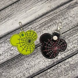 Spider Web Mouse Fobs – DIGITAL Embroidery DESIGN