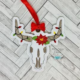 Longhorn Ornament – Digital Embroidery Design