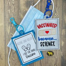 Because…Science Vaccination Card Holders 5×7