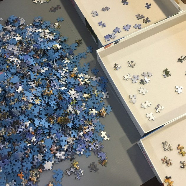3000 Piece Jigsaw Puzzle Lil Blue Bottle