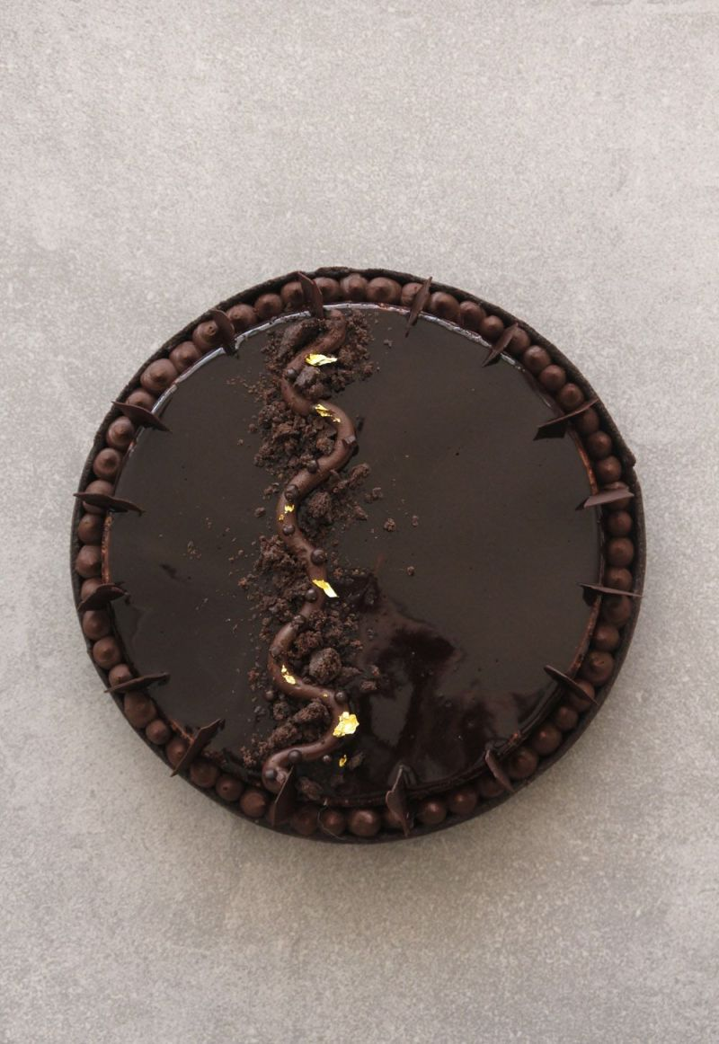 The Ultimate Chocolate Tart