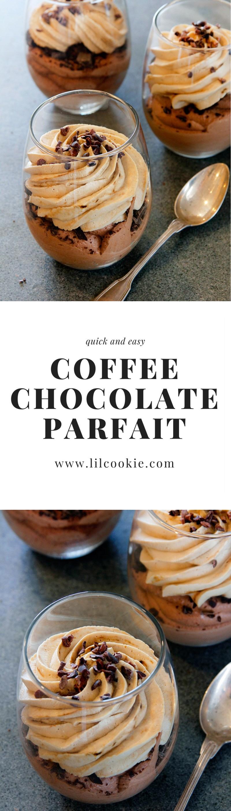 Coffee Chocolate Parfait