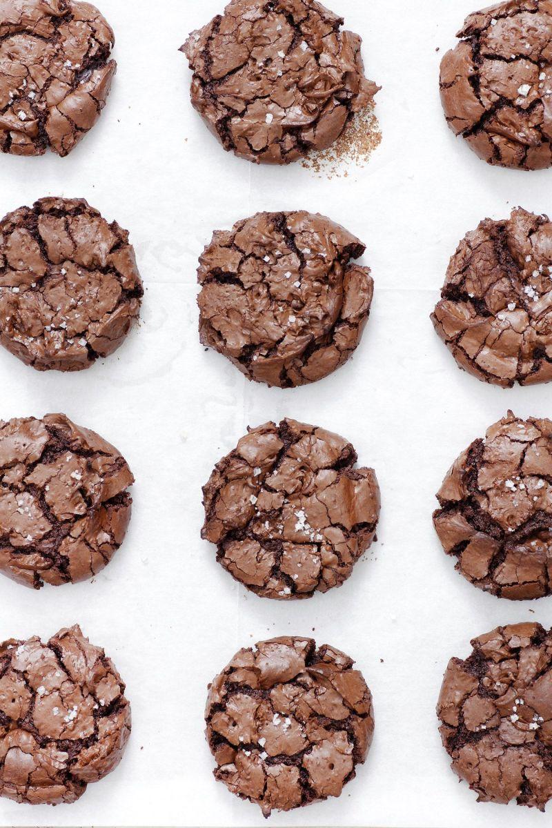 Gluten Free Brownie Chocolate Cookies