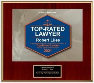RobertLiles-TopRatedLawyer-AVVO