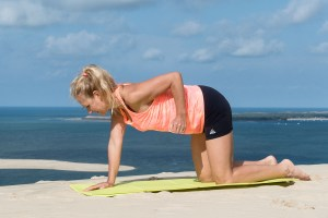 Bras Triceps à genoux 1 Lili coaching