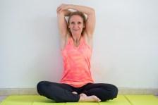 Etirement triceps assis / Affiner des bras