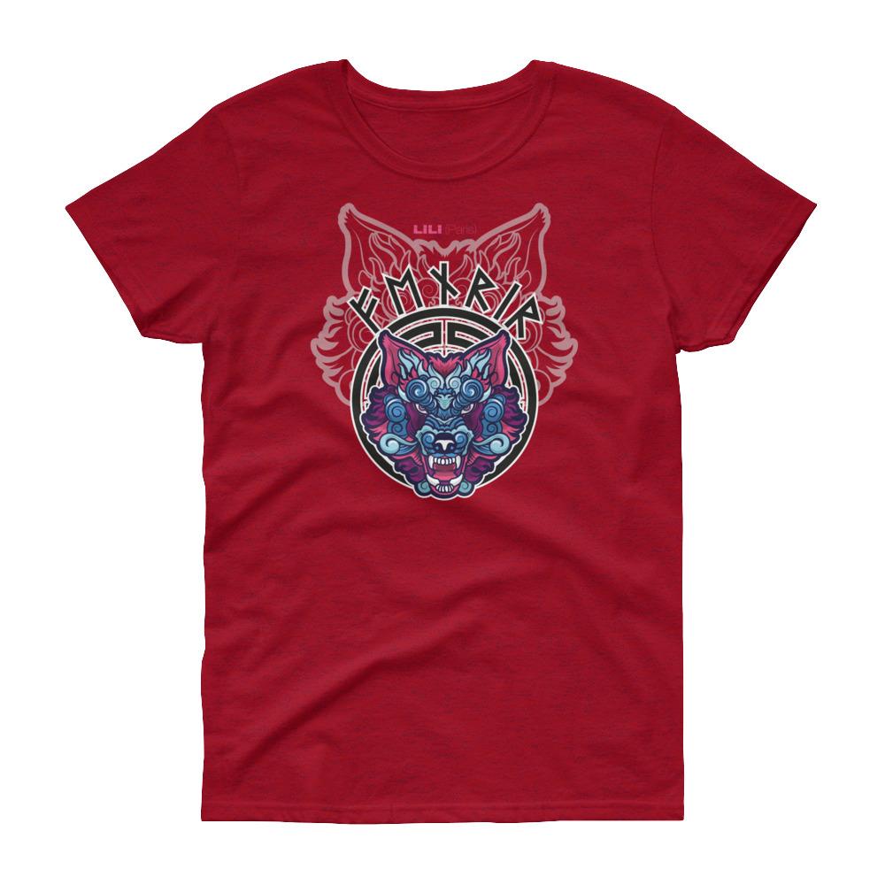 "Fenrir ""Dragon"" – T-shirt Femme manches courtes"