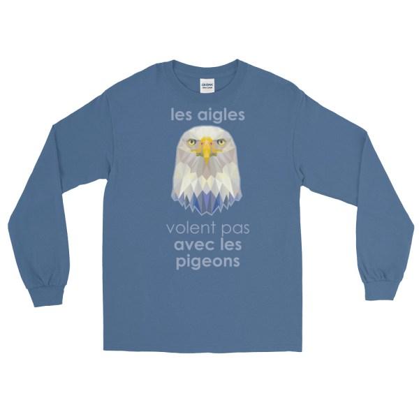 """Zoo """"Aigle"""" - T-shirt manches longues Homme et Femme (Unisexe)"""