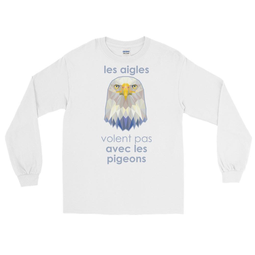 """Zoo """"Aigle"""" – T-shirt manches longues Homme et Femme (Unisexe)"""