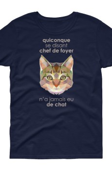 "Zoo ""Chat"" - T-shirt Femme manches courtes"