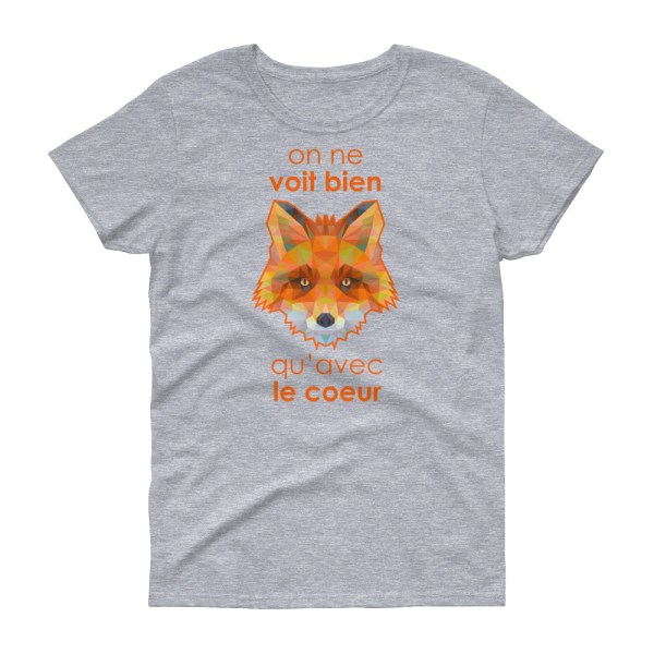 "Zoo ""Renard"" - T-shirt Femme manches courtes"