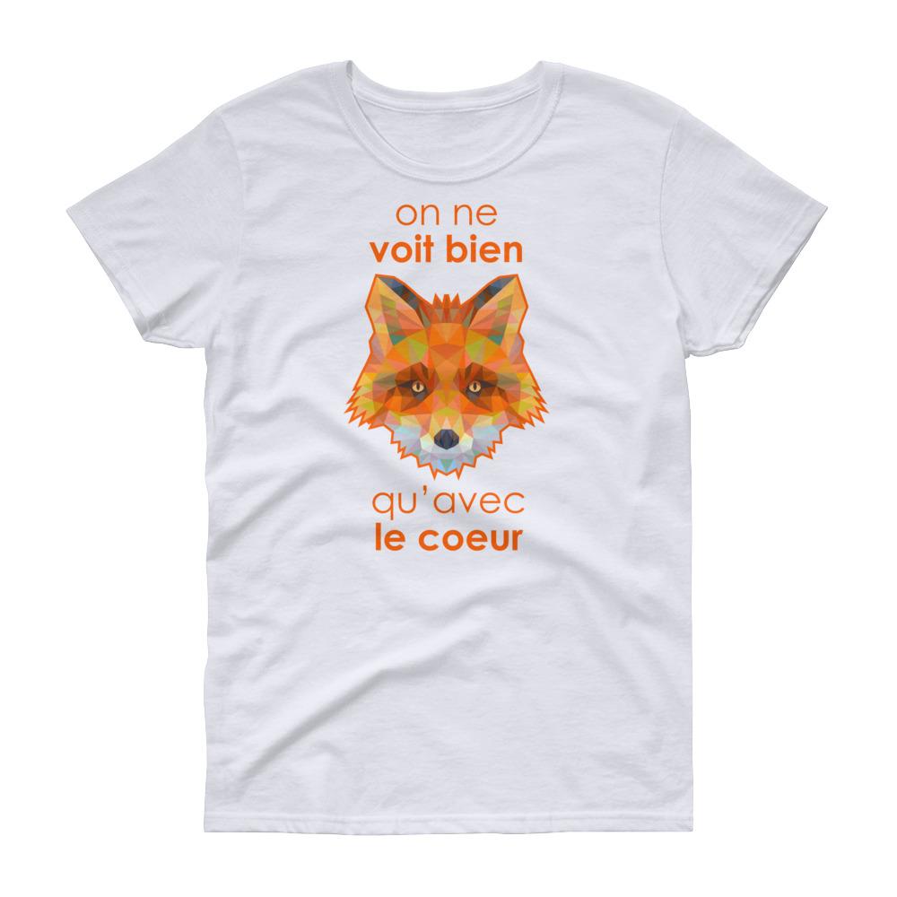 "Zoo ""Renard"" – T-shirt Femme manches courtes"