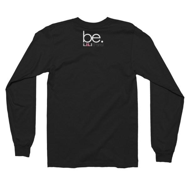 """Black Edition : Handwritings """"Je t'aime"""" - T-shirt manches longues Homme et Femme (Unisexe)"""