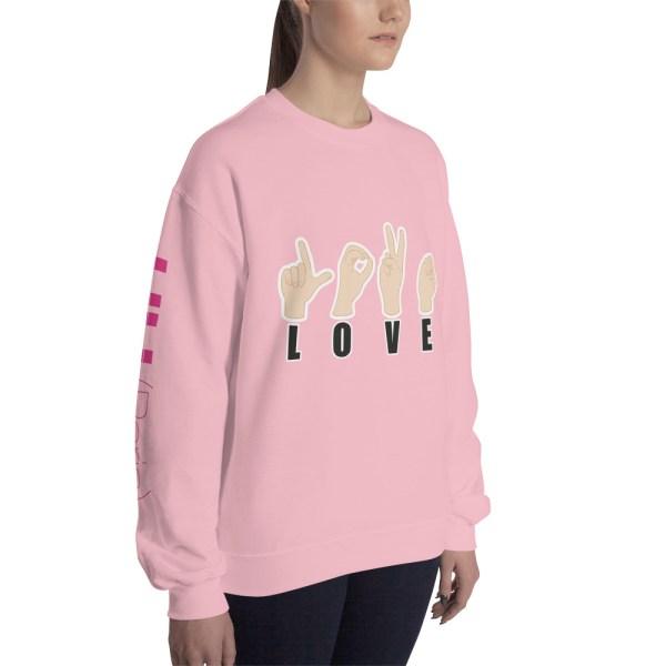 """Handwritings """"Love"""" - Sweat-shirt Unisexe"""