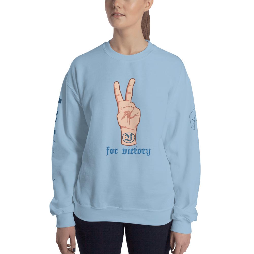 "Handwritings ""V for Victory"" – Sweat-shirt Unisexe"