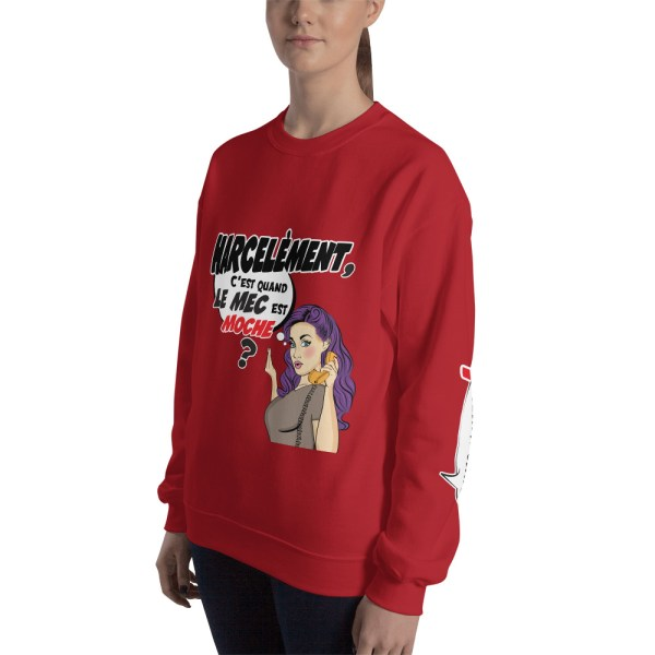 "Punchliness ""Harcèlement"" - Sweat-shirt Femme"