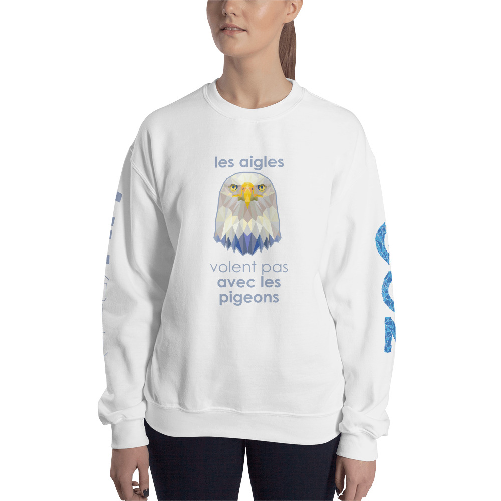 "Zoo ""Aigle"" – Sweat-shirt Unisexe"