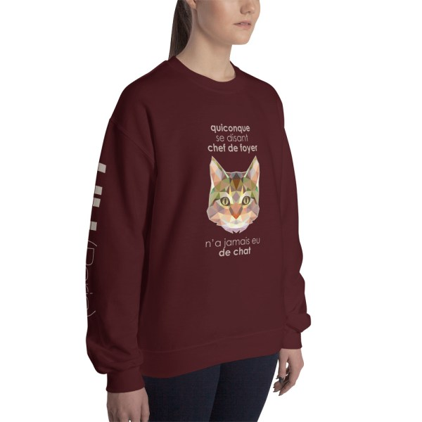 """Zoo """"Chat"""" - Sweat-shirt Unisexe"""