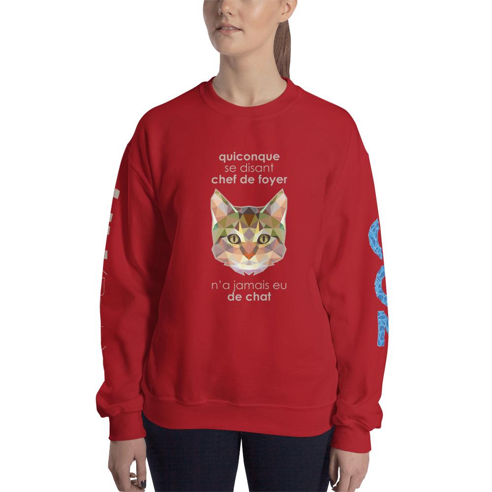 """Zoo """"Chat"""" – Sweat-shirt Unisexe"""
