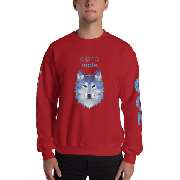 "Zoo ""Loup"" - Sweat-shirt pour Hommes"