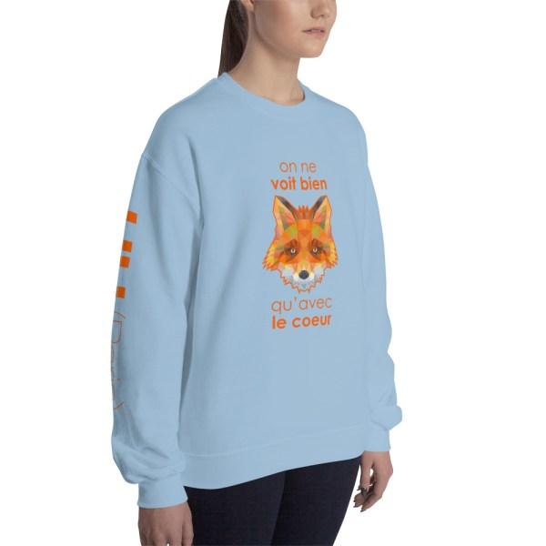 "Zoo ""Renard"" - Sweat-shirt Unisexe"